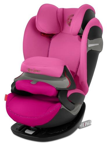 Автокресло Cybex Pallas S-Fix Fancy Pink (9)