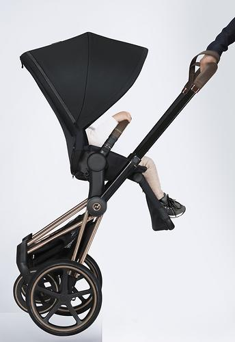 Шасси Rose Gold 2019 для коляски Cybex Priam III (16)