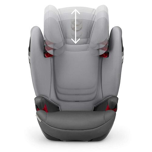 Автокресло Cybex Solution S-Fix Manhattan Grey 2019 (15)