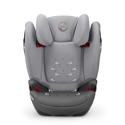Автокресло Cybex Solution S i-Fix Soho Grey (16)