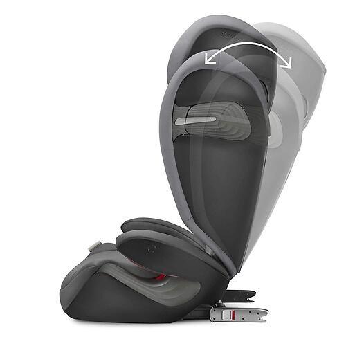 Автокресло Cybex Solution S i-Fix Soho Grey (17)