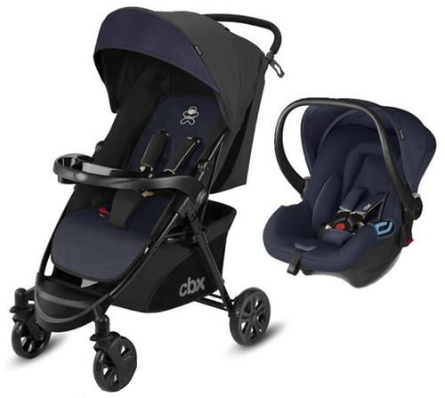 Коляска 2в1 CBX by Cybex Woya Travel System Jeansy Blue (6)