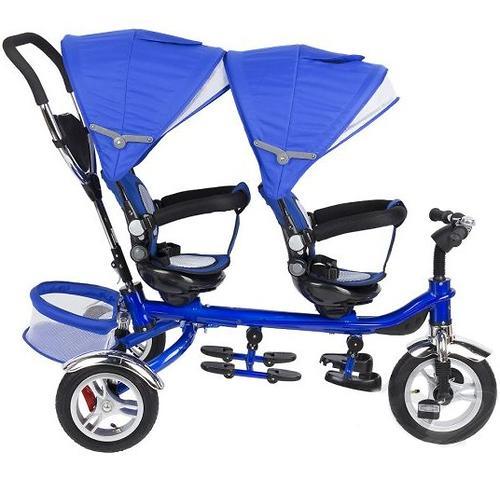 Уценка! Велосипед Capella Twin Trike 360 для двойни 3-х колесный Red (11)