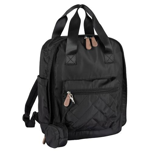 Сумка-рюкзак для мамы Chicco Осень-Зима 2020 Черный (8)