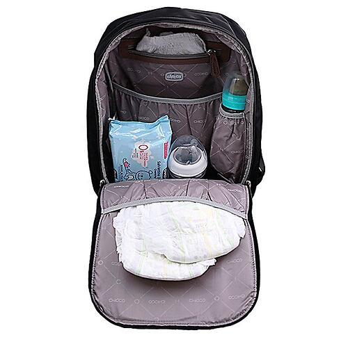 Сумка-рюкзак для мамы Chicco Осень-Зима 2020 Черный (9)