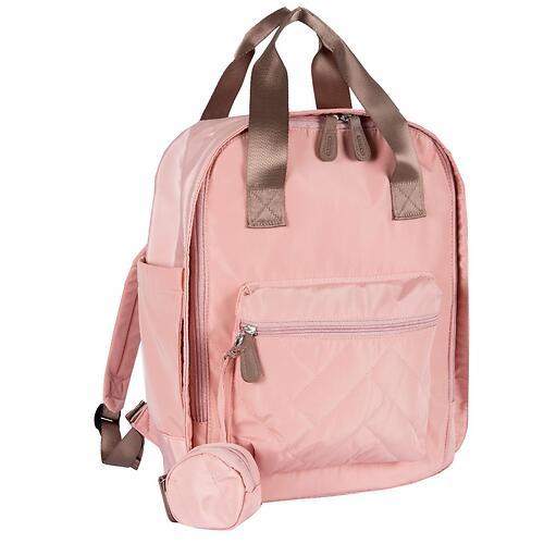 Сумка-рюкзак для мамы Chicco Осень-Зима 2020 Розовая (8)