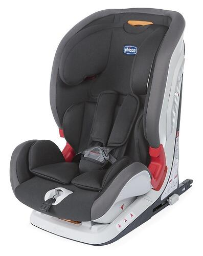 Автокресло Chicco Youniverse Fix Jet Black (9-36 kg) 12+ (9)