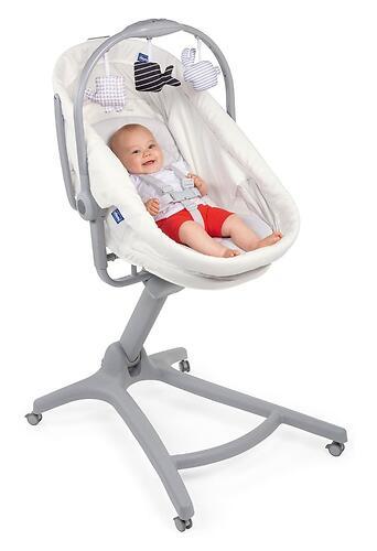 Кроватка-стульчик Chicco Baby Hug Air 4в1 Glacial (12)