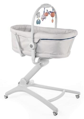Кроватка-стульчик Chicco Baby Hug Air 4в1 Glacial (10)