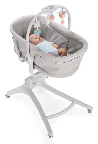 Кроватка-стульчик Chicco Baby Hug Air 4в1 Glacial (11)