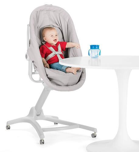 Кроватка-стульчик Chicco Baby Hug Air 4в1 Glacial (13)