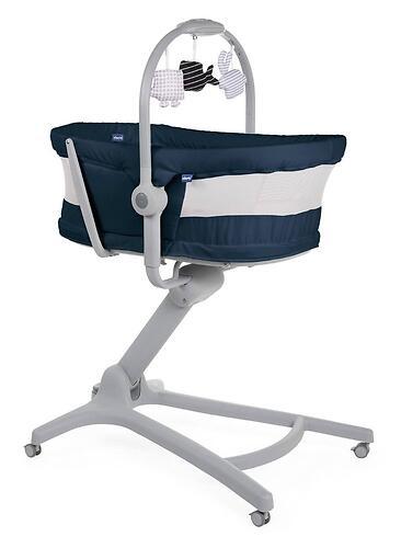 Кроватка-стульчик Chicco Baby Hug Air 4в1 India Ink (9)
