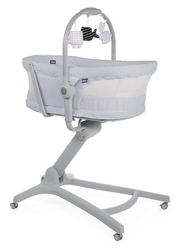 Кроватка-стульчик Chicco Baby Hug Air 4в1 Stone (10)