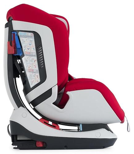 Автокресло Chicco Seat Up 012 Red Passion (12)
