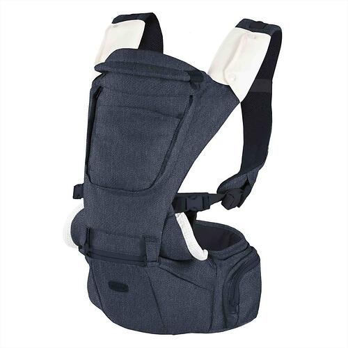 Рюкзак-переноска Chicco Hip Seat Denim (8)