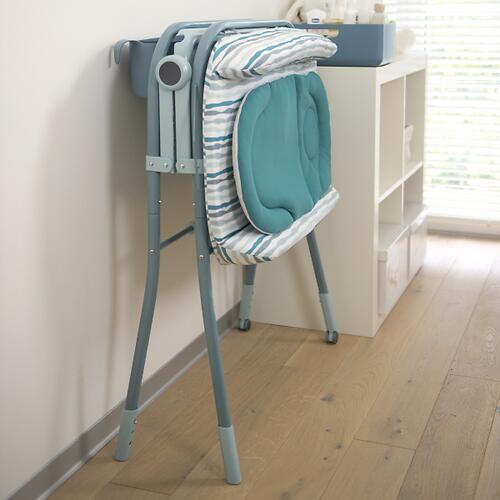 Столик для пеленания+ванночка Chicco Cuddle-Bubble Ocean (19)