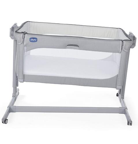 Кроватка-манеж Chicco Next2Me Magic Cool Grey 0м+ (10)