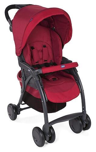 Прогулочная коляска Chicco Simplicity Top Scarlet (12)