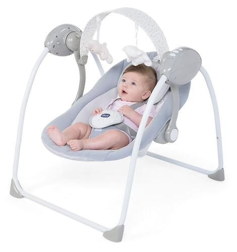 Кресло-качалка Chicco Relax and Play Cool Grey (8)