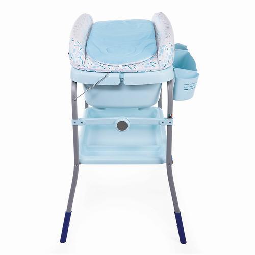 Столик для пеленания+ванночка Chicco Cuddle-Bubble Ocean (13)