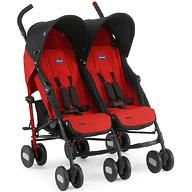 Коляска Chicco для близнецов Echo Twin Stroller Garnet