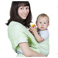 Слинг-шарф Чудо-Чадо Герба зелень