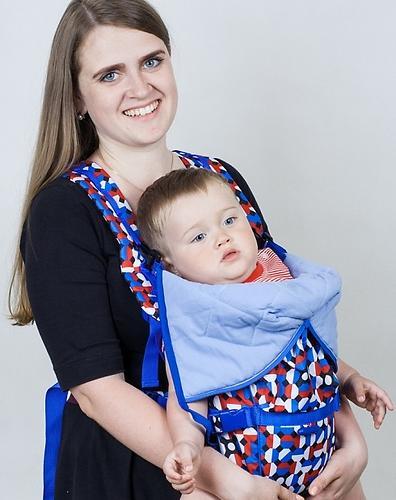 Кенгуру-рюкзак Чудо-Чадо Baby Active Choice Электроника-Cиний (9)