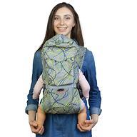 Кенгуру-рюкзак Чудо-Чадо Baby Active Choice Электроника-Серый