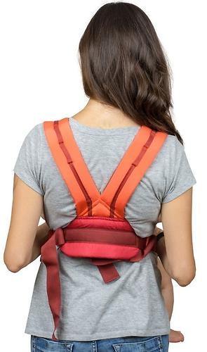 Кенгуру-рюкзак Чудо-Чадо Baby Active Luxe Вишнево-Коралловый (11)