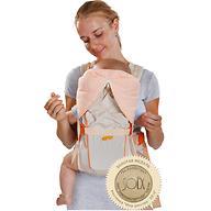 Кенгуру-рюкзак Чудо-Чадо Baby Active Luxe Бежевый