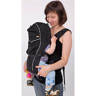 Кенгуру-рюкзак Чудо-Чадо Baby Active Luxe Черный