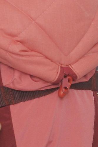 Кенгуру-рюкзак Чудо-Чадо Baby Active Luxe Вишнево-Коралловый (16)