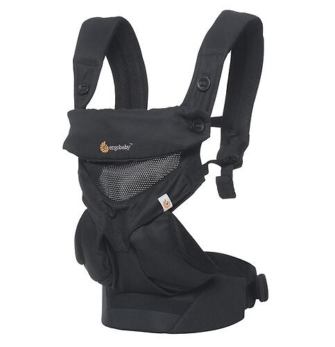 Рюкзак-кенгуру Ergobaby 360 Cool Air Mesh Onyx Black (11)