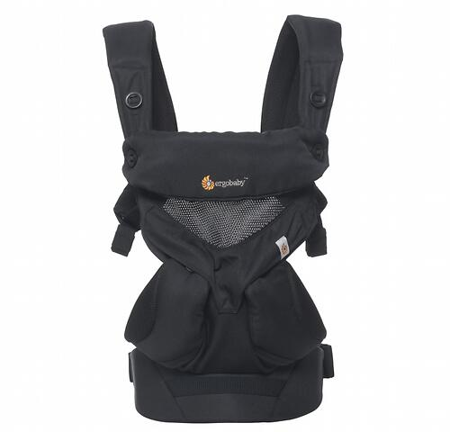 Рюкзак-кенгуру Ergobaby 360 Cool Air Mesh Onyx Black (12)