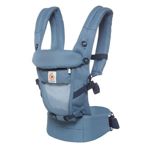 Рюкзак-кенгуру Ergobaby Adapt Cool Air Mesh Oxford Blue (11)