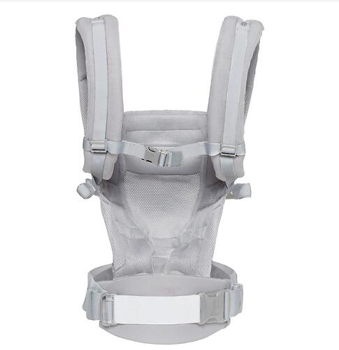 Рюкзак-кенгуру Ergobaby Adapt Cool Air Mesh Pearl Grey (13)