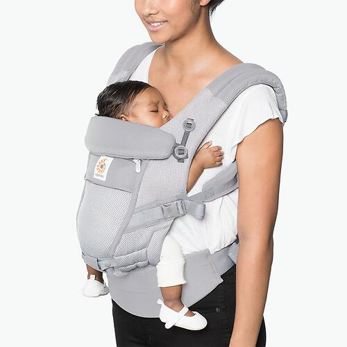 Рюкзак-кенгуру Ergobaby Adapt Cool Air Mesh Pearl Grey (14)