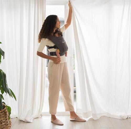 Рюкзак-кенгуру Ergobaby Embrace Heather Grey (25)