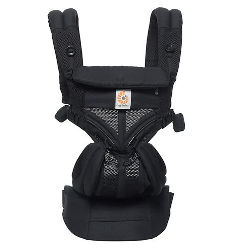 Рюкзак-кенгуру Ergobaby Omni 360 Cool Air Mesh Onyx Black (14)