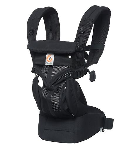 Рюкзак-кенгуру Ergobaby Omni 360 Cool Air Mesh Onyx Black (12)