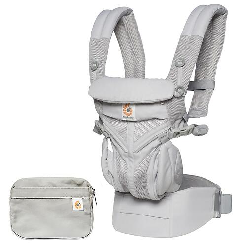 Рюкзак-кенгуру Ergobaby Omni 360 Cool Air Mesh Pearl Grey (11)