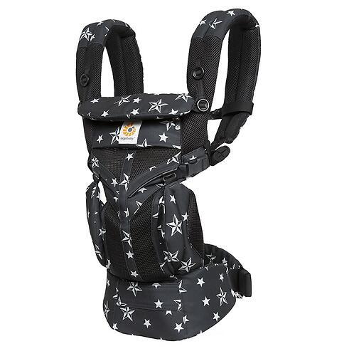 Рюкзак-кенгуру Ergobaby Omni 360 Cool Air Mesh Black Stars (12)