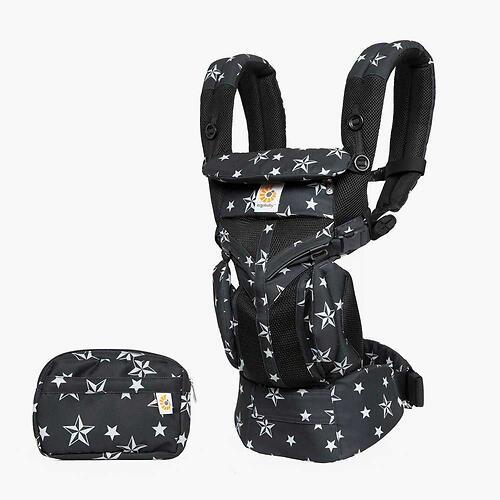 Рюкзак-кенгуру Ergobaby Omni 360 Cool Air Mesh Black Stars (13)