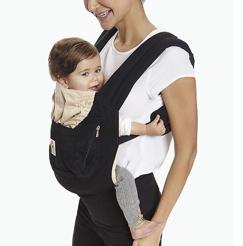 Рюкзак-кенгуру Ergobaby Original Carrier Black and Camel (12)