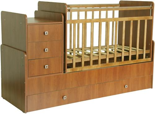 Кровать детская Фея 1100 Бук (3)