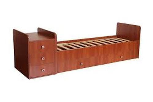 Кровать детская Фея 1100 Бук (4)