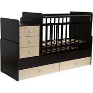 Кроватка детская Фея 1100 Венге-Клен