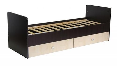 Кроватка детская Фея 1100 Венге-Клен (4)