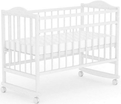 Кроватка детская Фея 204 Белая (1)