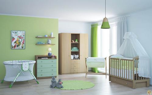 Кроватка детская ФЕЯ 328 белая (6)